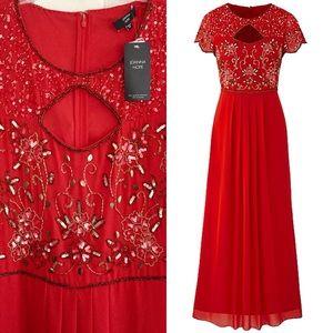 Beaded Maxi Dress